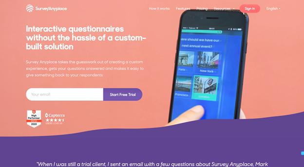 SurveyAnyplace screenshot