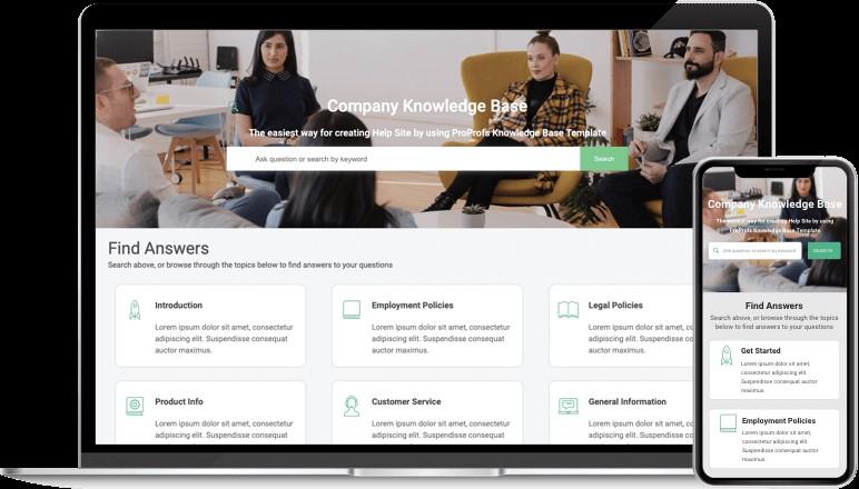 Company knowledge base