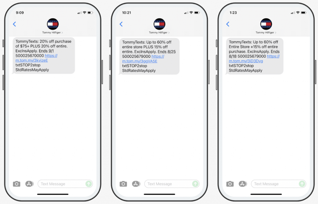 6 SMS Campaign Ideas and Examples for E-commerce 1